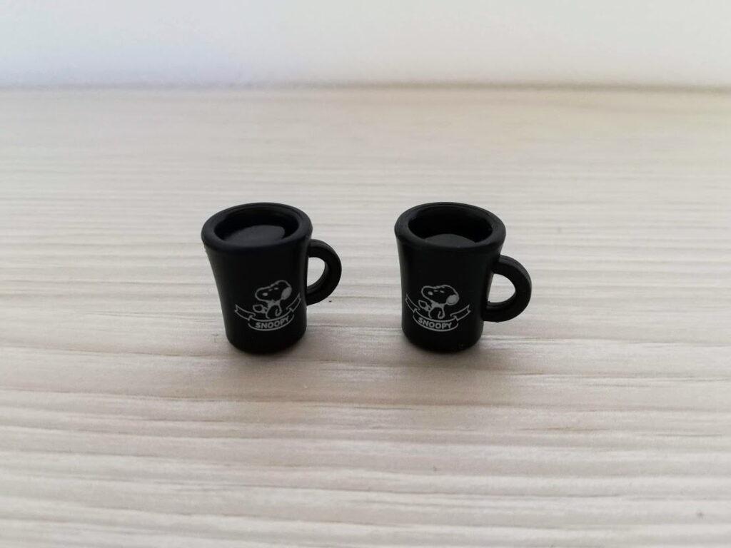 コーヒーカップ黒2個